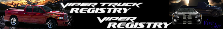 Viper Registry / Viper Truck Registry & Research Forum